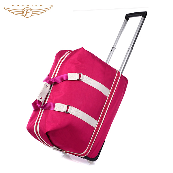 2a79bec8b4 New Design Trolley Rolling Travel Bag for Woman