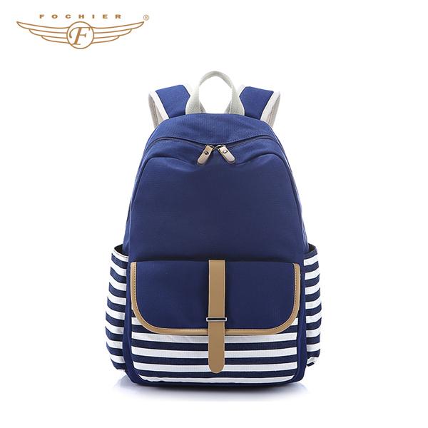e6b78e480b Blue Stylish Cute Students Backpack For School
